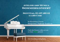 Atelier Ars Musica Sommerkonzert